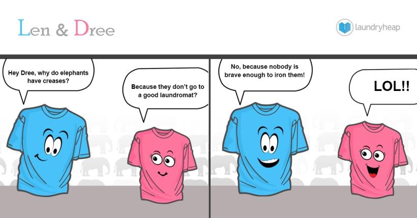 len & Dree comic strip #1.4