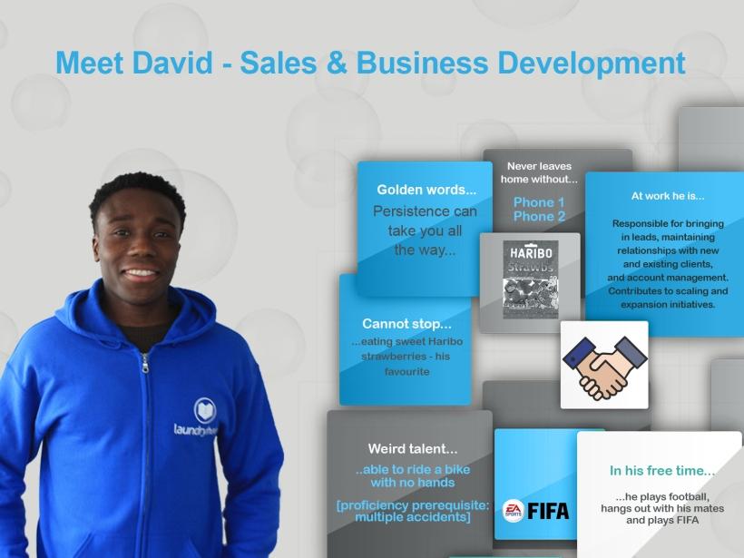 meet the team - david