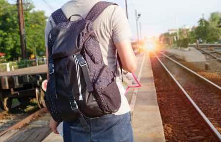 alone backpack bag commuter