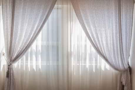contemporary cozy curtain decoration